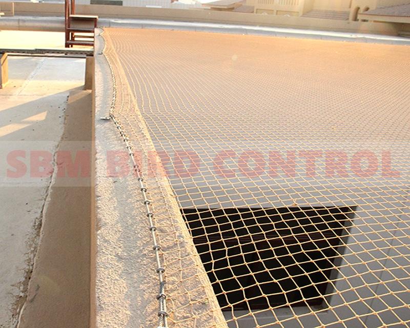 bird netting by sbm bird control