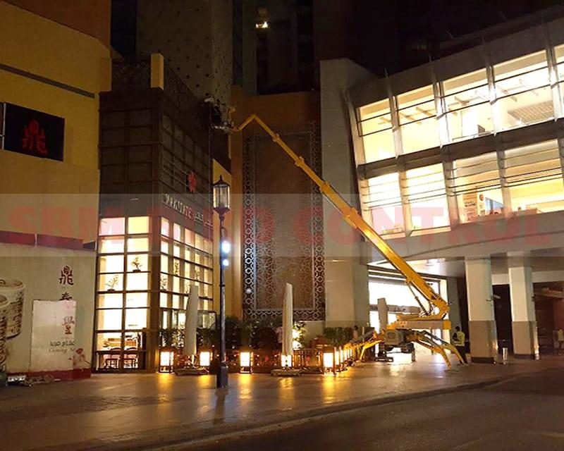 Al ghurair Mall by SBM Bird Control
