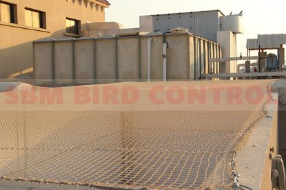 bird netting by sbm bird control